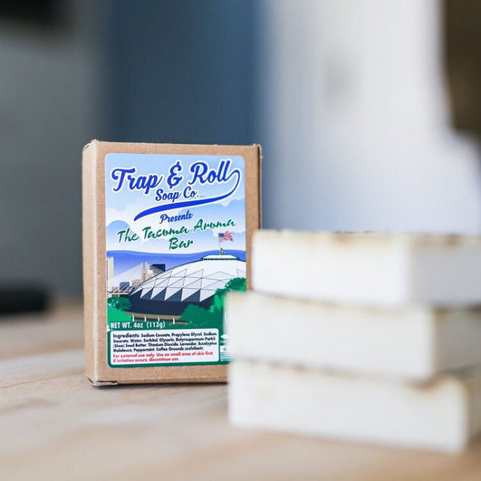 Tacoma Aroma Bar by Trap and Roll Soap Company