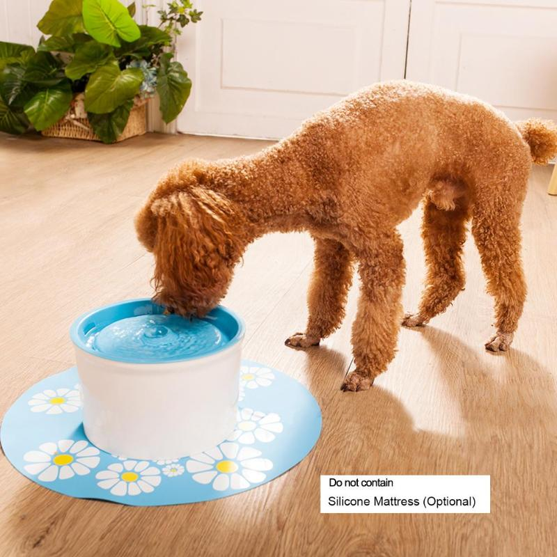 1.6L Automatic Pet Water Fountain with Mat