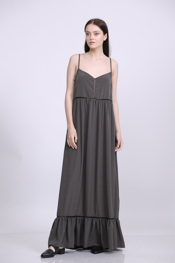 Dolly Green Maxi Dress