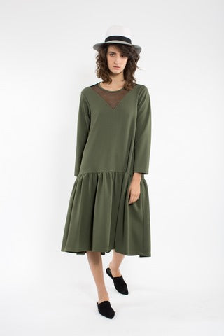 Mia Olive Winter Dress
