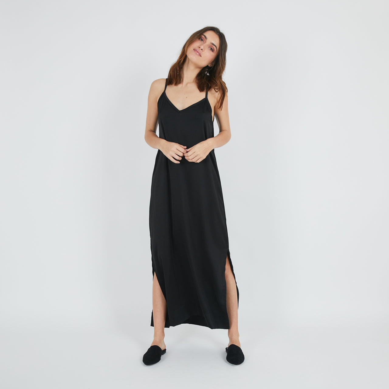 Satai Black Dress