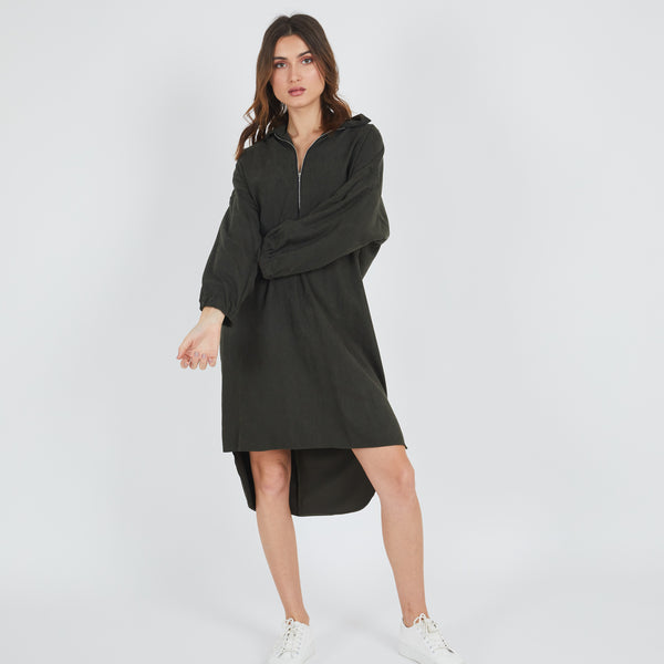 Celine Green Dress
