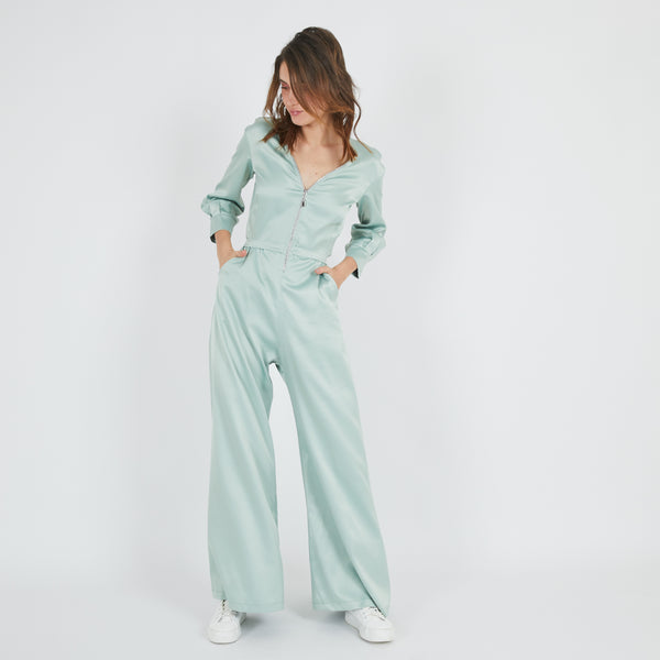 Suzy Mint Jumpsuit