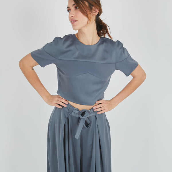 Satai Grey Top