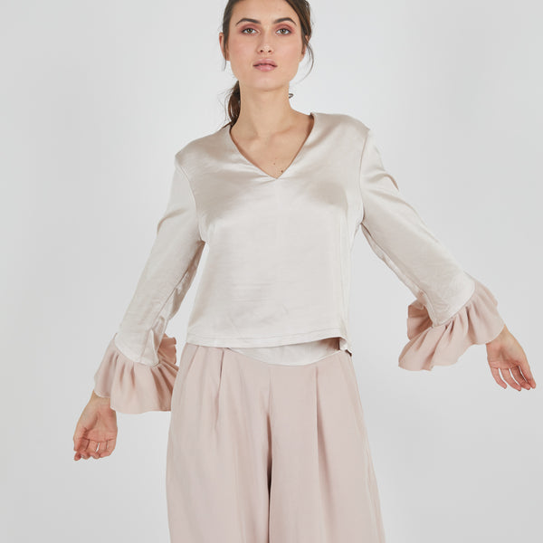 Flamenco Nude Top
