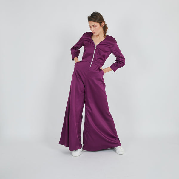 Suzy Purple Jumpsuit