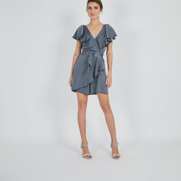Orient Grey Jumpsuit