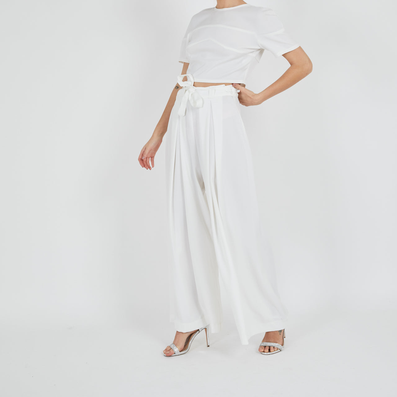 Satai White Trousers