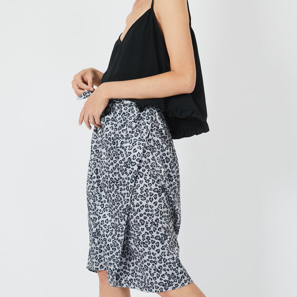 Moss Cheetah Skirt