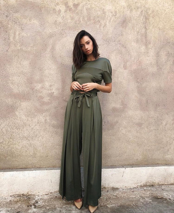 Sati Green Trousers