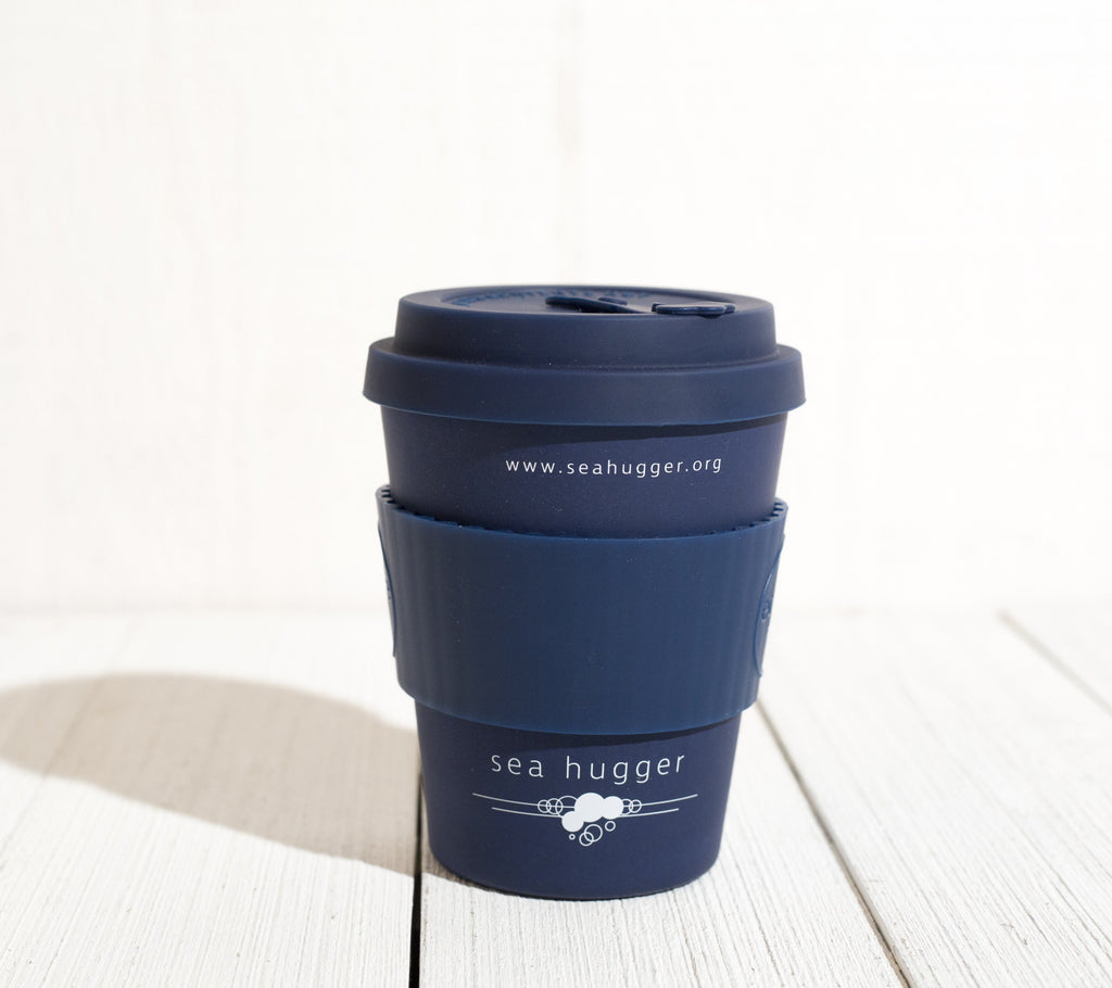 12 oz Bamboo Reusable Sea Hugger Coffee Cup