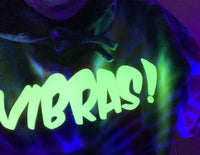 Dark Rainbow Vibras! Green GLOW     *LIMITED