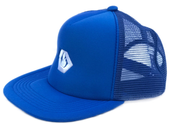 Embroidered Trucker (Royal Blue)