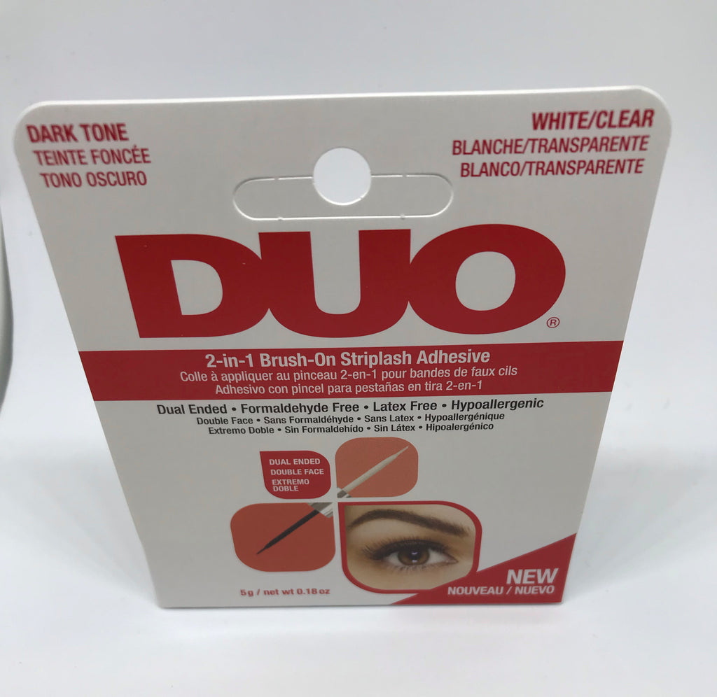 2-in-1 Brush-On Strip Adhesive