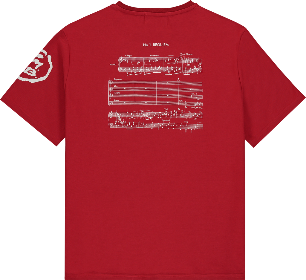 Signature Requiem Tee - Red