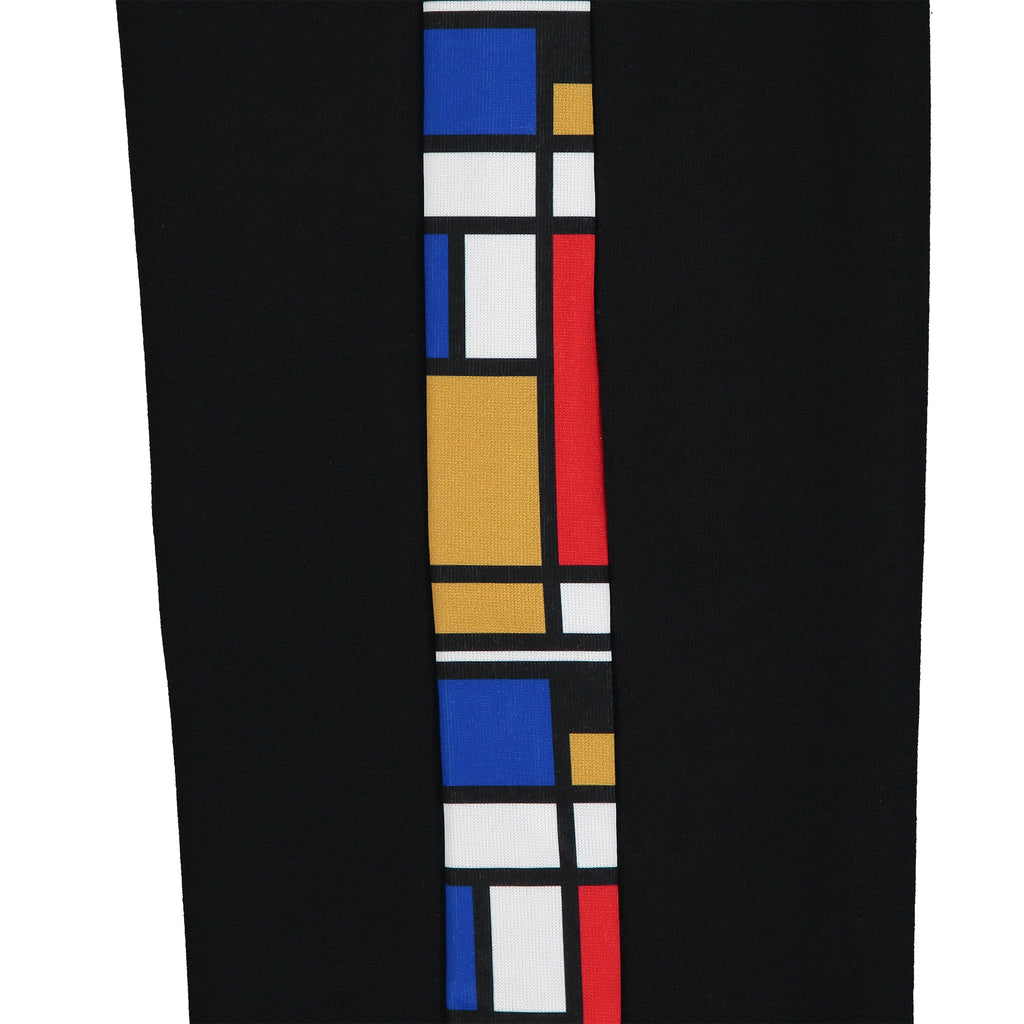 Mondrian Tracksuit Bottoms - Black