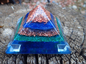 Expanding our Orgone Pyramid, and Crystal Collection: Recent Achievements