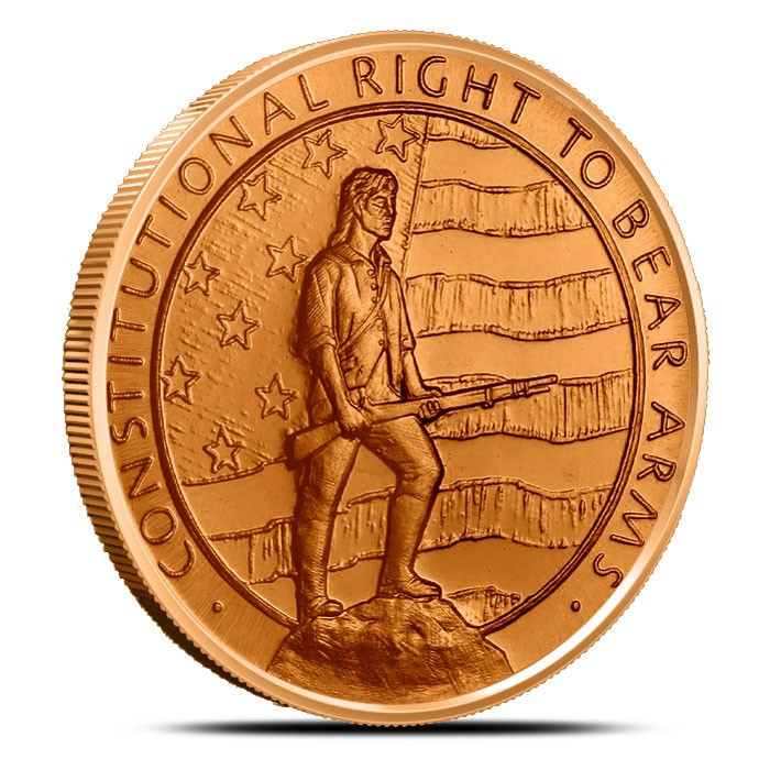 2nd Amendment 1 oz Copper Round