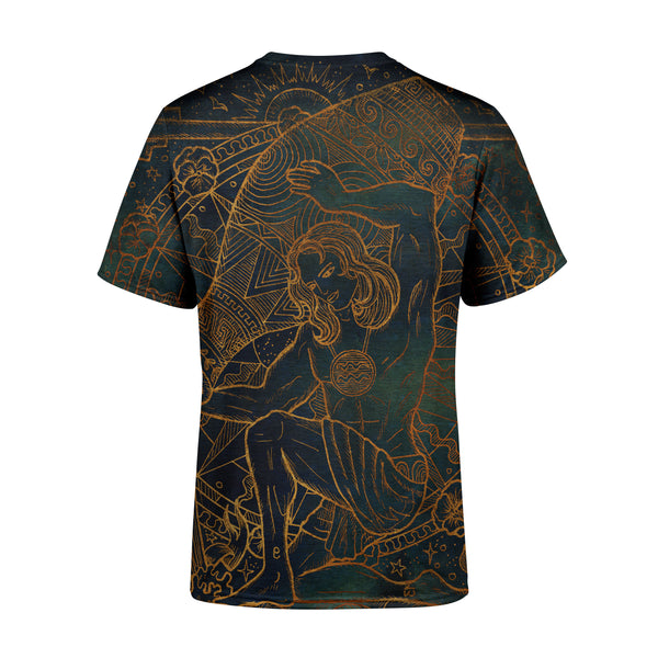 Short Sleeve Aquarius T-Shirt