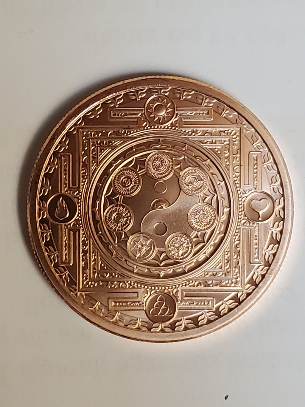 Cosmic Archetype 1 oz Copper round( Mini Mintage) Only 1145 minted