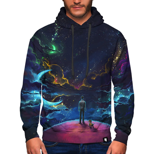 Gaze at the Galaxy Hoodie