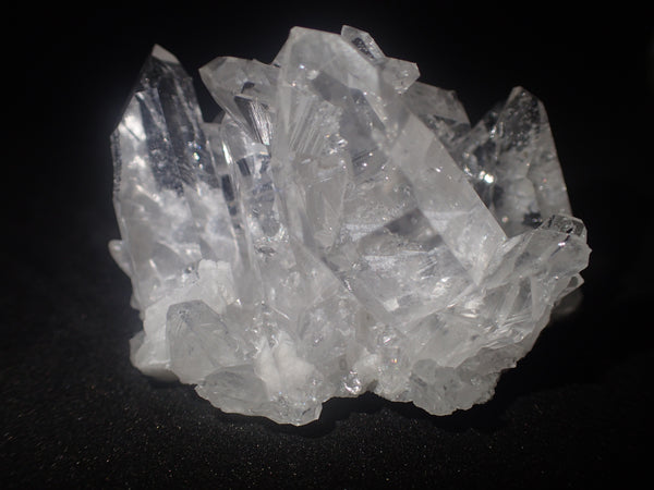 Medium sized Quartz Cluster Grade A+ With terminated points