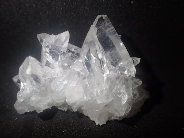Medium sized Quartz Cluster Grade A+ With terminated points Super clear!