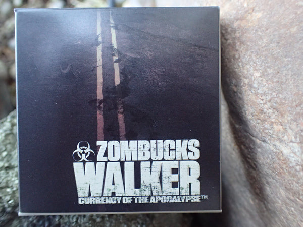 Proof Zombucks Walker 1 oz Copper Round