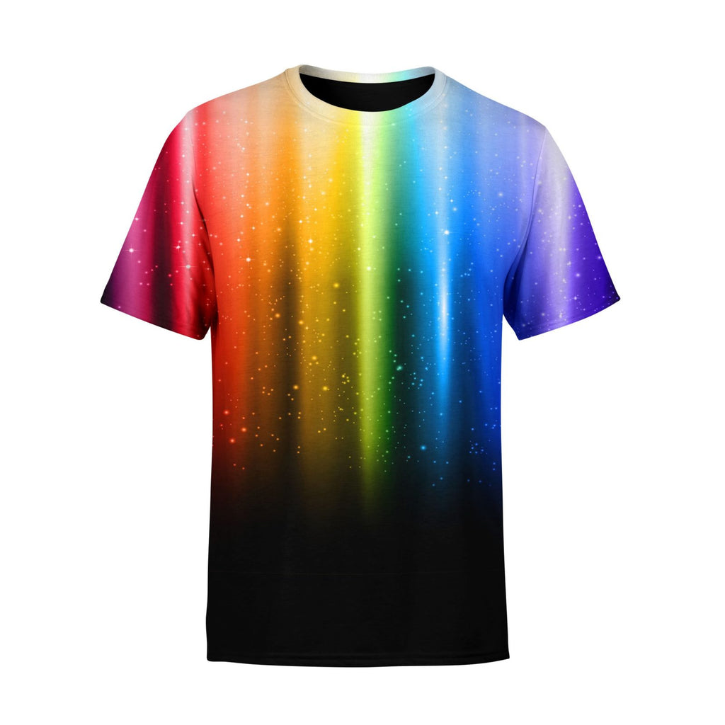 Short Sleeve Rainbow T-Shirt