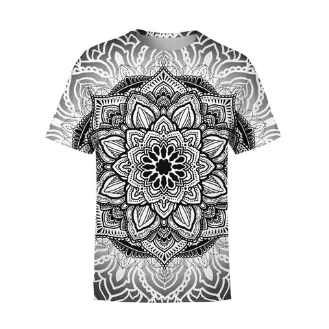 Short Sleeve Symetricity T-Shirt