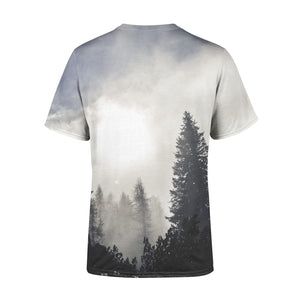 Short Sleeve Trees in the Fog T-Shirt