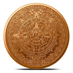 1 oz Aztec Calendar Copper Roudn