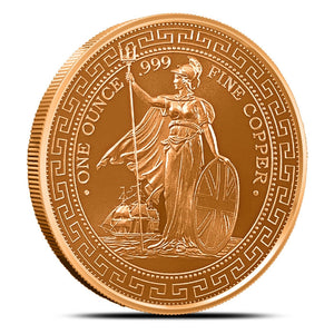 1 oz Copper Round | British Trade Dollar