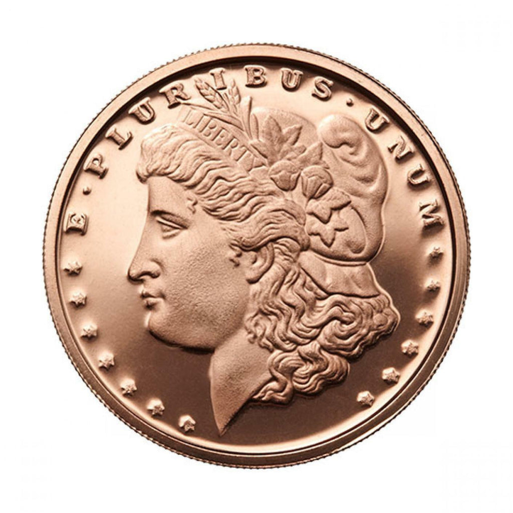 Morgan Dollar 1 oz Copper Round (Buy 5 Get 1 Free)
