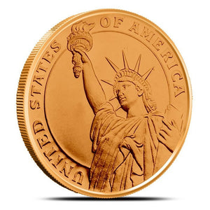 1 oz Copper Round | Statue of Liberty
