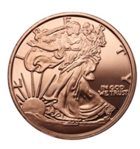 1 oz Copper Round | Walking Liberty