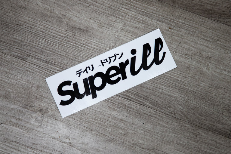 SUPERiLL Sticker