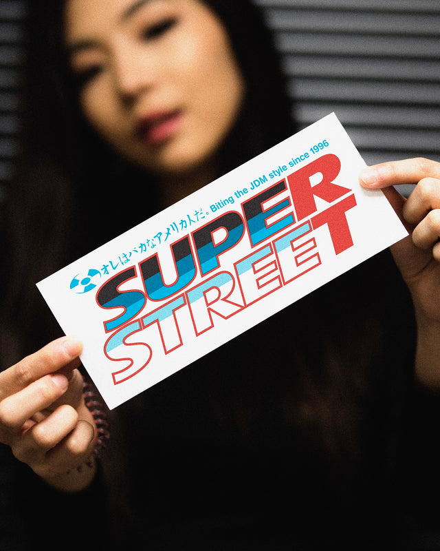 Super Street Classic Bumper Sticker