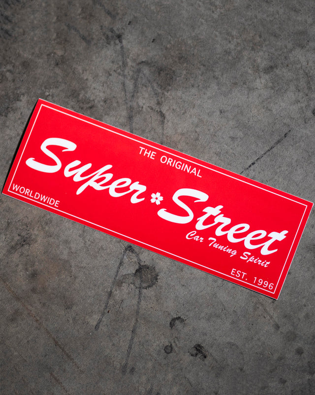 Sakura Super Street Sticker