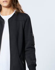 LARGO BOMBER - BLACK