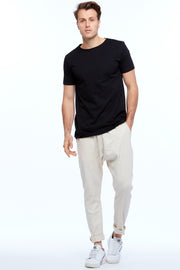 MEN'S DROPCROTCH PANTS - BEIGE