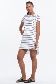 T-BAR TUNIC DRESS - CLASSIC STRIPE