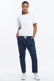 DROPCROTCH PANT - NAVY