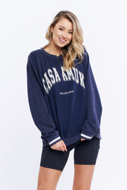 VINTAGE JUMPER - NAVY