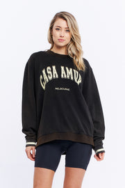 VINTAGE JUMPER - BLACK