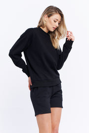 LOGO SWEATER - BLACK