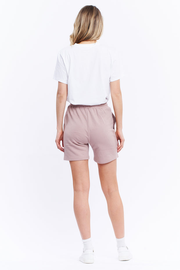 TRACK SHORT - TAUPE