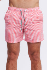 SWIMSHORT - RED STRIPE