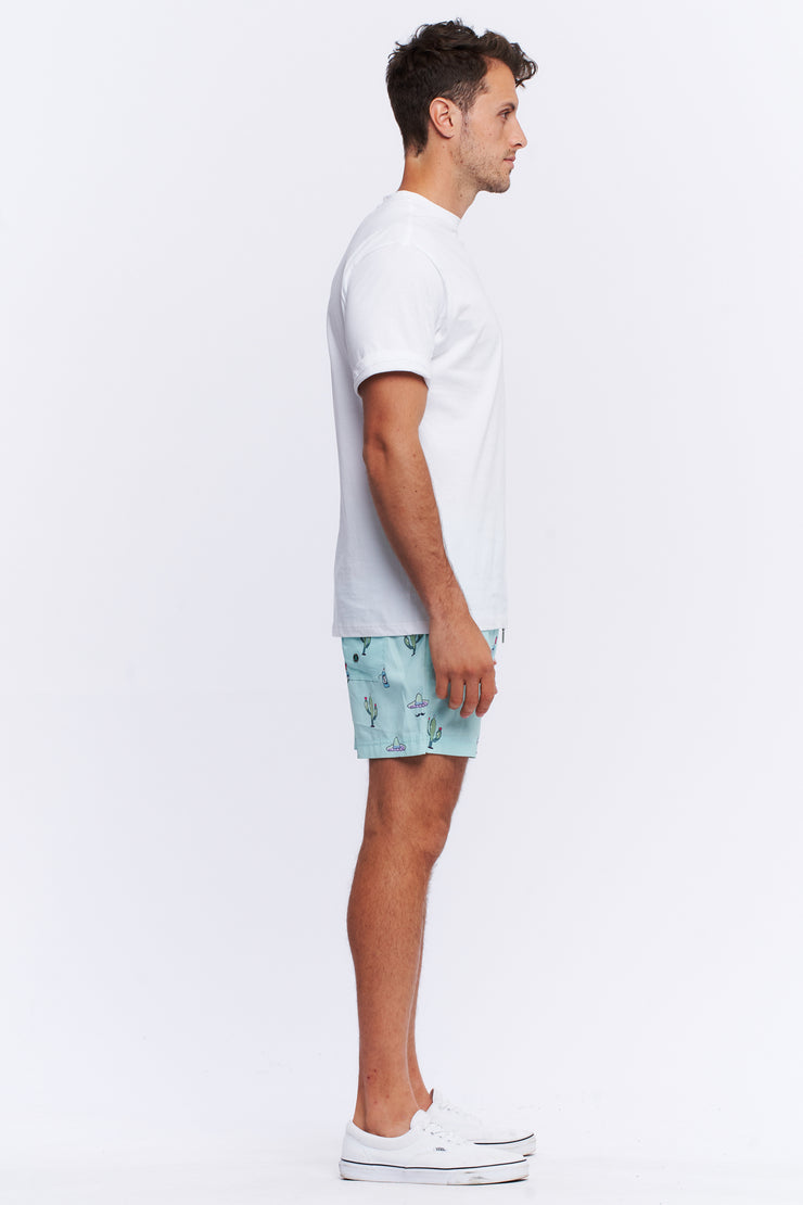 SWIMSHORT - TEAL TACO