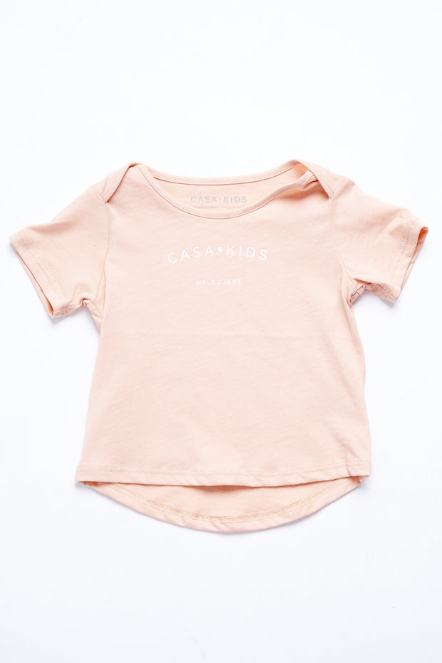 CASA KIDS MELBOURNE TEE – CLAY